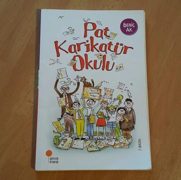 Kitapkurduanne Pat Karikatür Okulu çocuklar Için Kitap önerileri